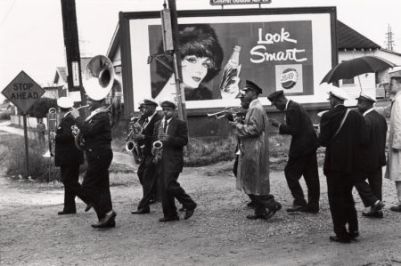 Lee Friedlander-Young Tuxedo Brass Band, New Orleans-1959