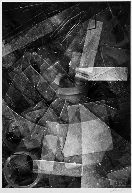 Ansel Adams-Glass Shards, Los Angeles, California-1939