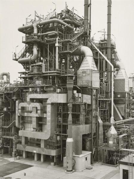 Bernd and Hilla Becher-Chemische Fabrik Wesseling Bei Köln, Germany-1997