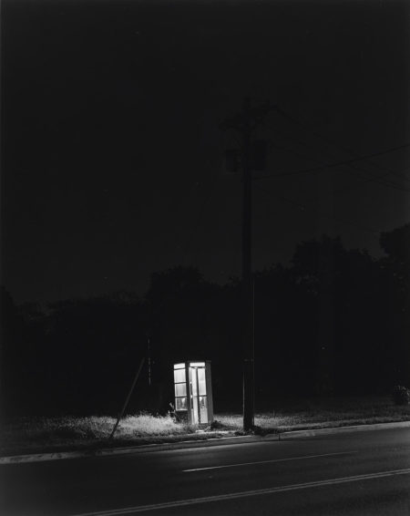 George Tice-Telephone Booth, 3 a.m., Rahway, New Jersey-1974
