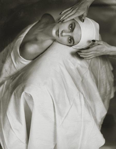 Horst P. Horst-Carmen (Face Massage)-1946