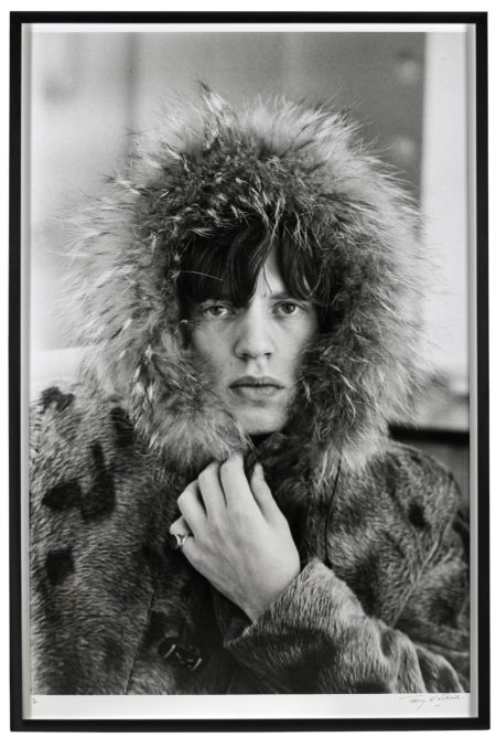 Terry O'Neill-Mick Jagger in Fur Parka - Mouth Closed-1964