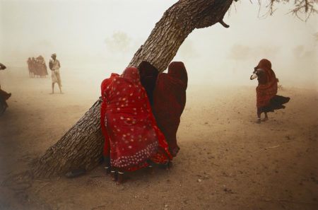 Steve McCurry-Dust Storm, Rajasthan, India-1983
