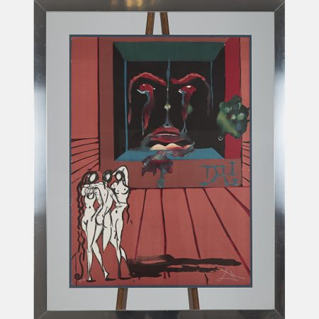 Salvador Dali-Obsession of the Heart-1976
