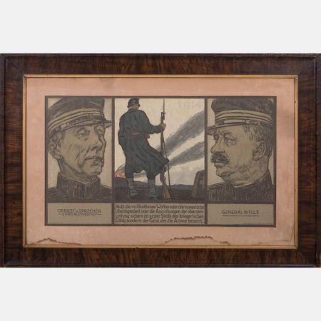 Eduard Renggli-WWI Propaganda Poster-1914