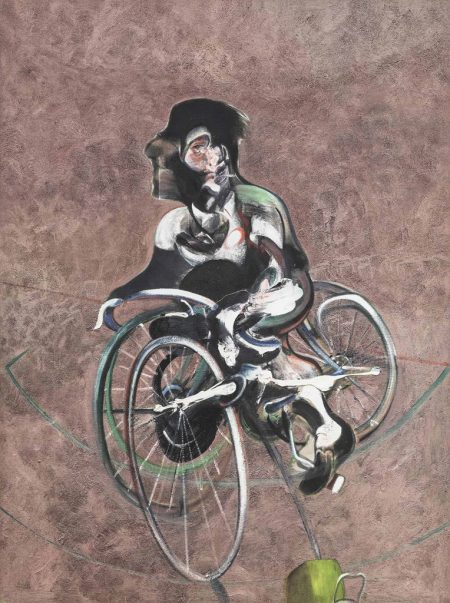 Francis Bacon-After Francis Bacon - Portrait of George Dyer riding a Bicycle (Heni Productions Catalogue Number Q1B)-1966