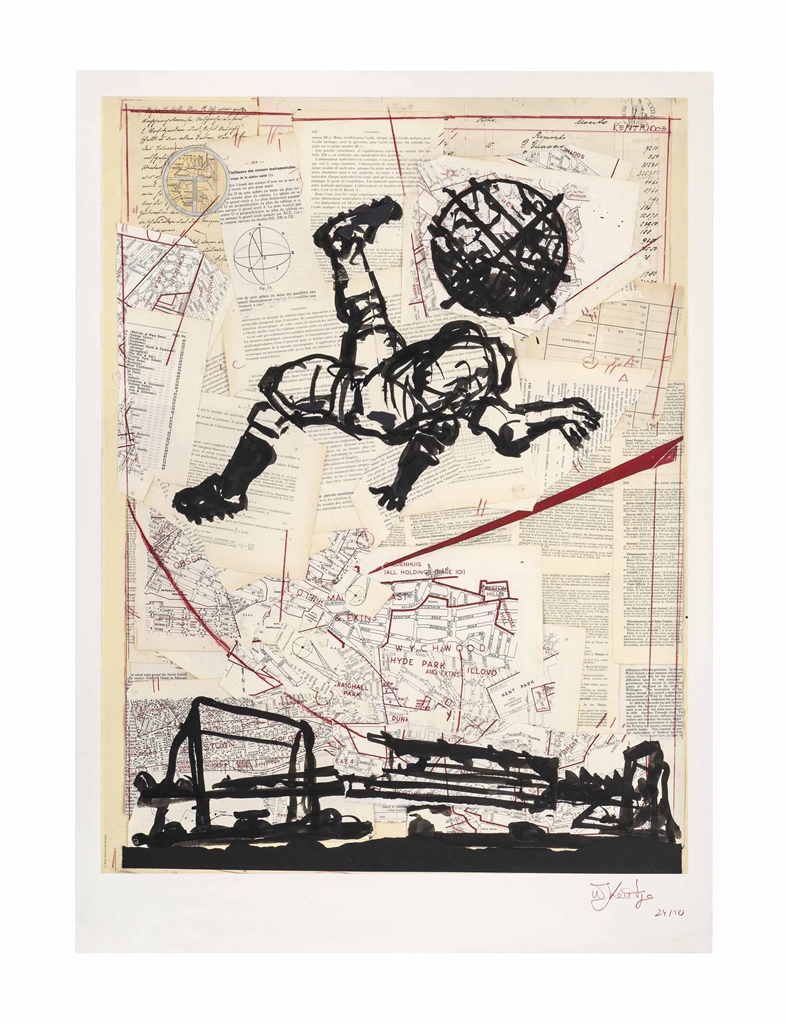 William Kentridge-Bicycle Kick-2012