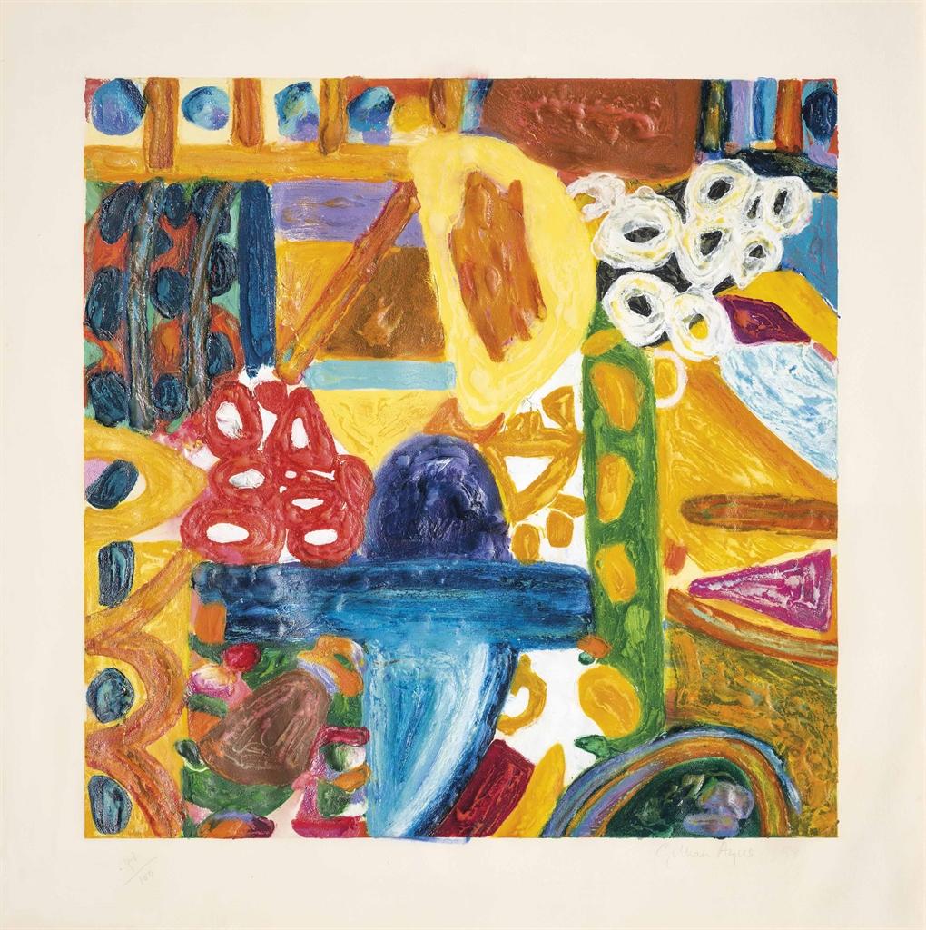 Gillian Ayres-Sikar II-1993