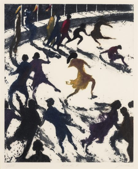 Bill Jacklin-(i) Rink I; (ii) The Bathers 2; (iii) Coney Island Incident, from: Coney Island Suite-1996