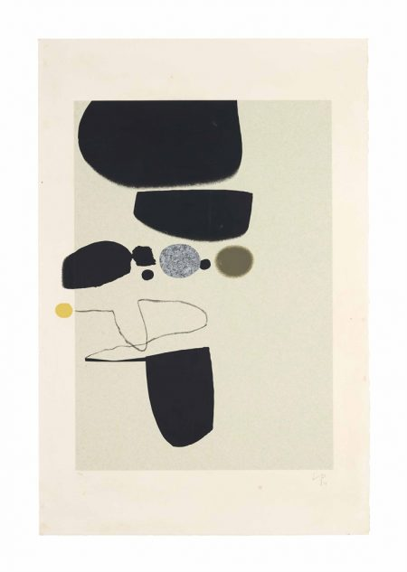 Victor Pasmore-Points of Contact No. 25 (Bowness & Lambertini 48c)-1974