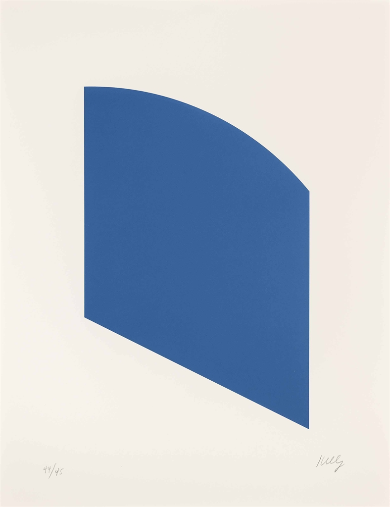 Ellsworth Kelly-Blue (Gemini 28.246)-2003