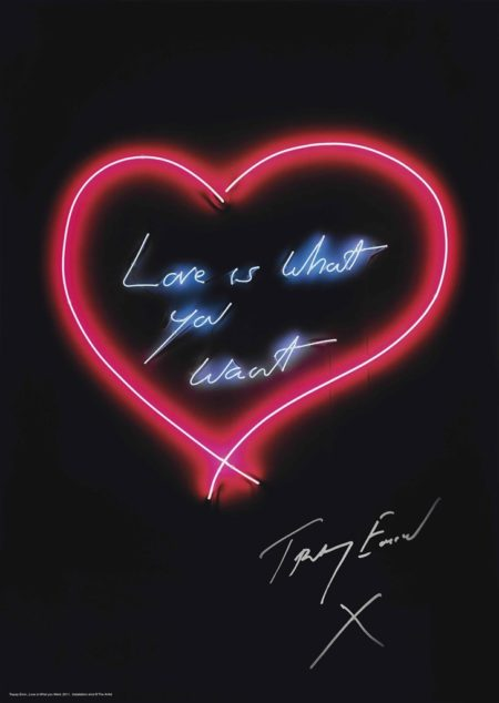 Tracey Emin-Love is What You Want-2015