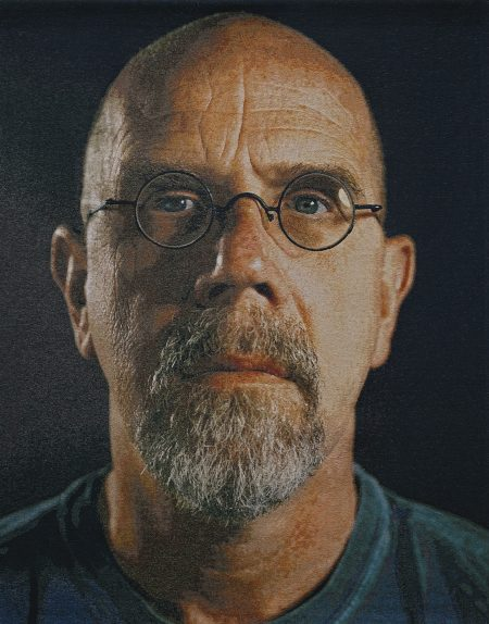 Chuck Close-Self Portrait/Color-2007