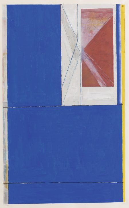 Richard Diebenkorn-Blue-1984