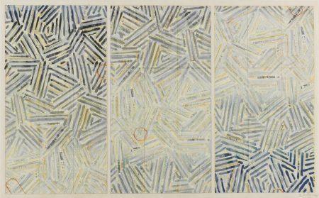 Jasper Johns-Usuyuki (Ulae 216)-1981
