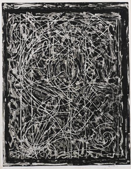 Frank Stella-Talladega Three I (Axsom 135)-1982