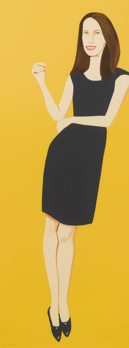 Alex Katz-Black Dress-2015