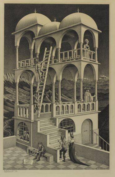 Maurits Cornelis Escher-Belvedere (B./K./L./W. 426)-1958