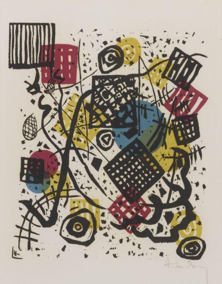 Wassily Kandinsky-Kleine Welten V (R. 168)-1922