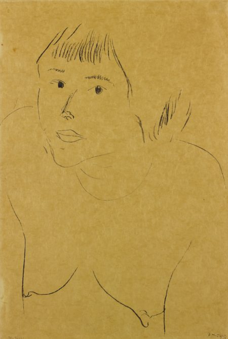 Henri Matisse-Les Yeux Noirs (D. 411)-1913