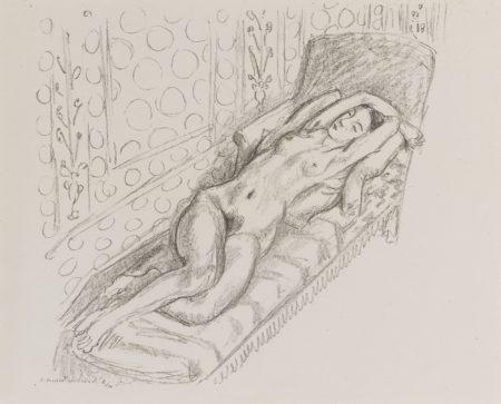 Henri Matisse-La Sieste (D. 427)-1922