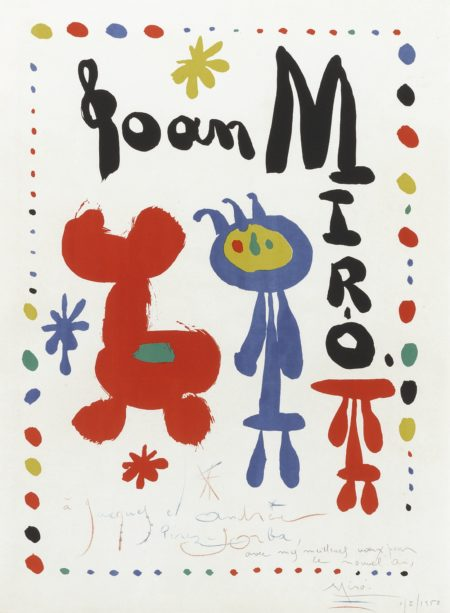 Joan Miro-Poster For Exhibition Of 1948 (M. 67)-1948