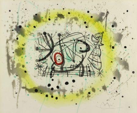 Joan Miro-Fissures (D. 463-477; C. Bk. 130)-1969