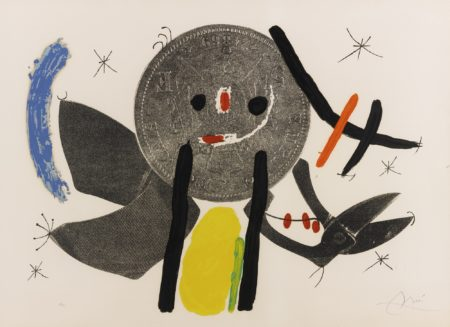 Joan Miro-The Crooked Phynancial Phang Iv (M. 691)-1971