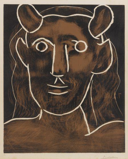 Pablo Picasso-Tete De Faune (B. 1094; Ba. 1291)-1962