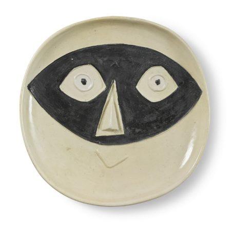 Pablo Picasso-Tete Au Masque (A. R. 362)-1956