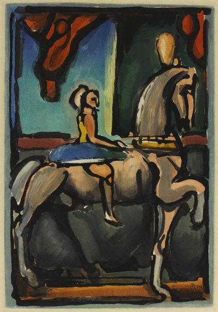 Georges Rouault-Cirque De L'Etoile Filante (Chapon/Rouault 240-256 A/B)-1938
