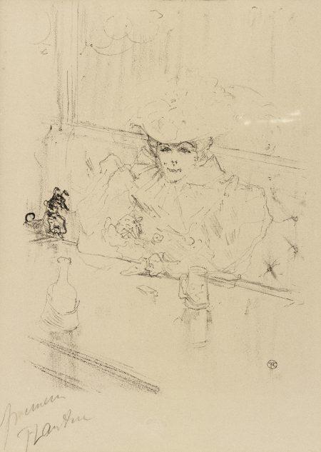 Henri de Toulouse-Lautrec-Au Hanneton (D. 272 Adr. 303 W. 296)-1898
