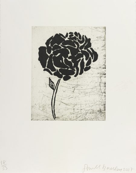 Donald Baechler-Five Flowers-2007
