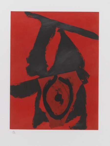 Robert Motherwell-The Red Queen (W.A.C. 476)-1989