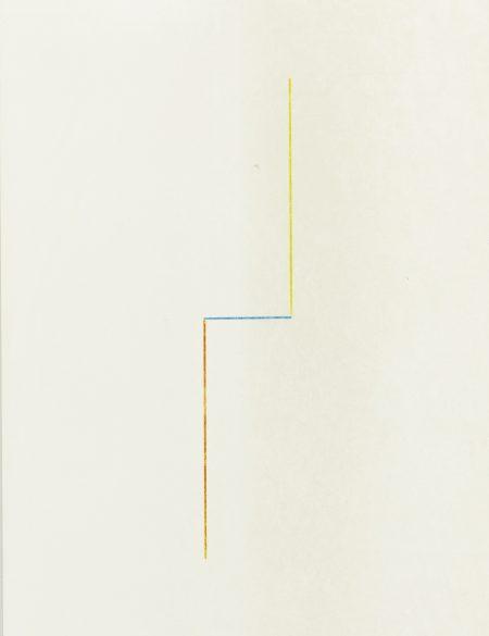 Fred Sandback-Untitled-1990