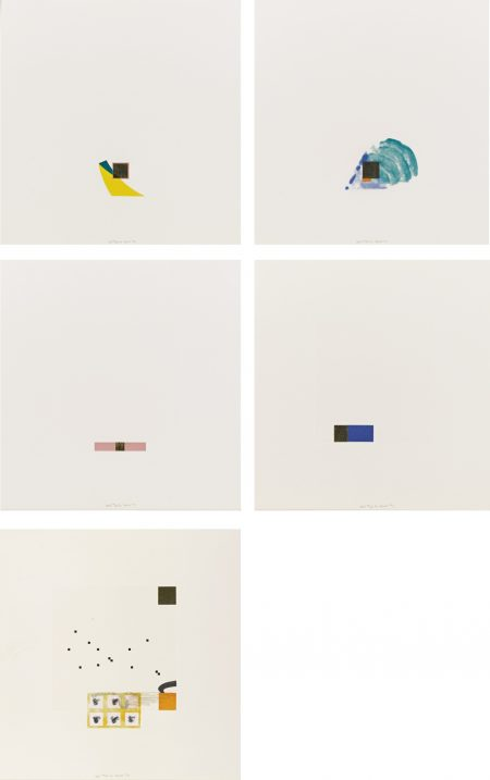 Richard Tuttle-Gold-