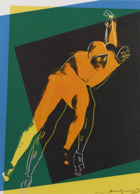 Andy Warhol-Speed Skater (F. & S. II.303)-1983