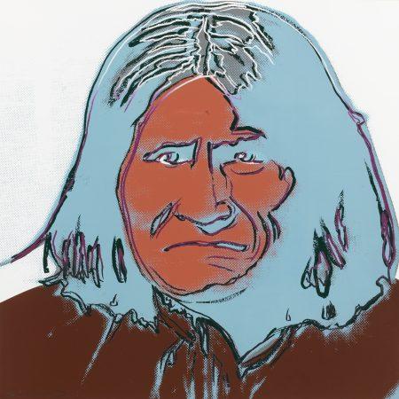 Andy Warhol-Geronimo (F. & S. IIb.384)-1986