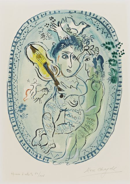 Marc Chagall-The Game (M. 439)-1966