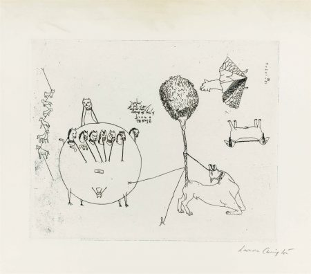 Leonora Carrington-Untitled, from VVV Portfolio-1942