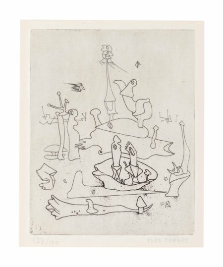 Yves Tanguy-Untitled, from Paul Eluard Solidarite-1938