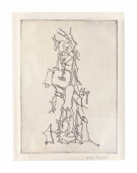 Yves Tanguy-Untitled, from Ivan Goll Le Myth de la roche percee-1947