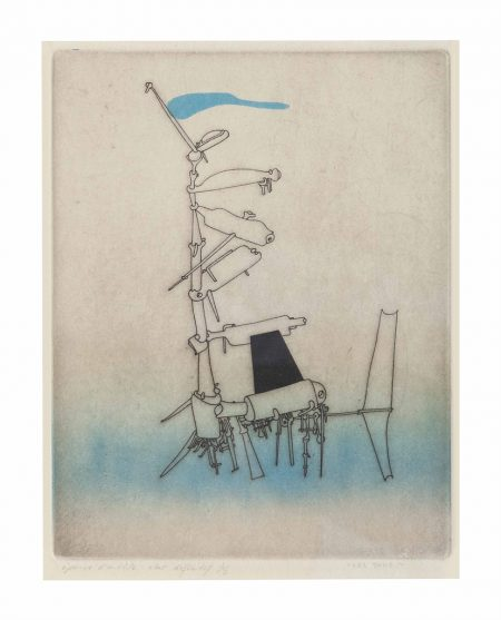 Yves Tanguy-Untitled, from Jean Laude Le Grand passage-1953