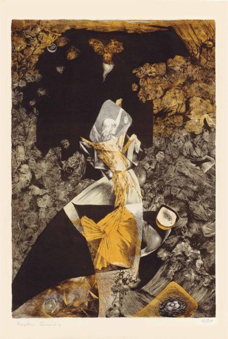Dorothea Tanning-Bateau bleu-1950
