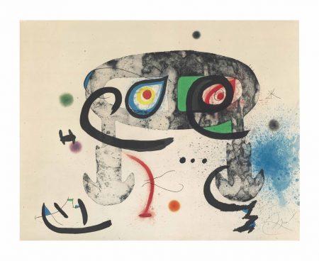 Joan Miro-Le Hibou blasphemateur-1975