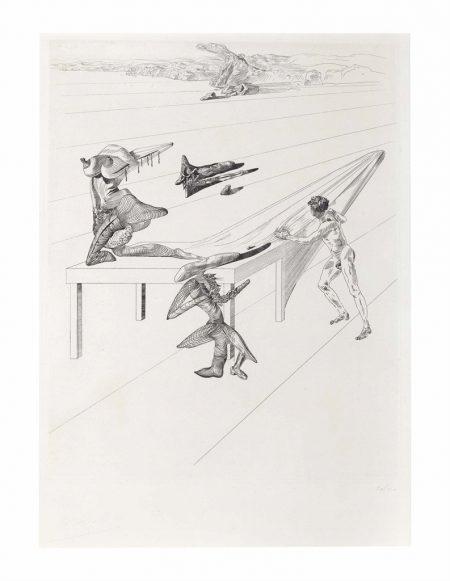 Salvador Dali-L'Enfant-sauterelle-1933