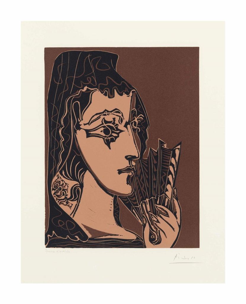 Pablo Picasso-L'Espagnole-1962
