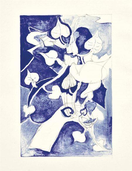 Georges Braque-(i) Les paroles transparentes, Les Bibliophiles de l'Union Francaise, Paris, 1955; (ii) Ulysses; (iii) Chants d'Ombre-1955