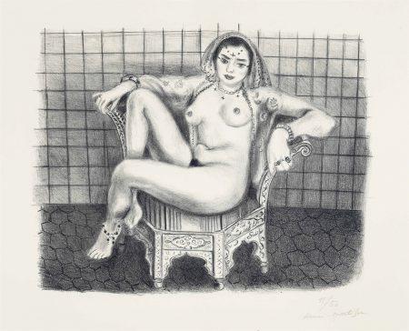 Henri Matisse-Jeune Hindoue-1929