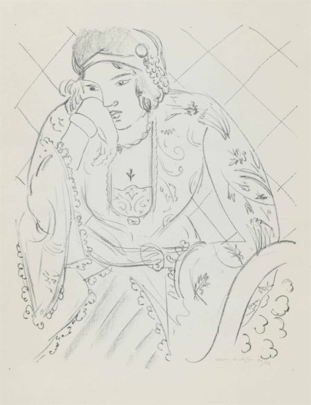 Henri Matisse-Orientale a la croix trifoliee-1929